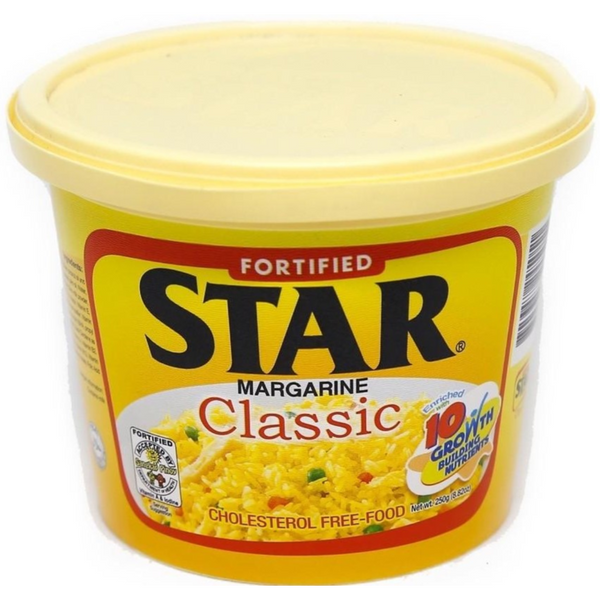 Star Margarine 250 gr (4769209057417)