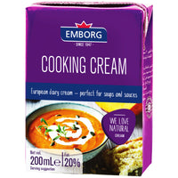 EMBORG UHT COOKING CREAM 200ML (4769951678601)