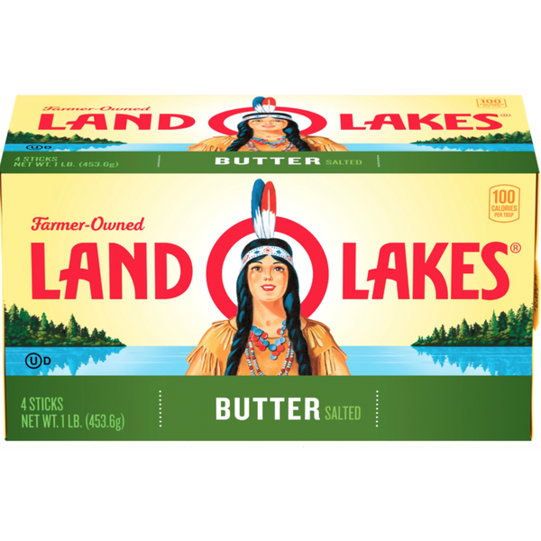 Land o Lakes Butter SALTED 16 oz (1LB) (4769208729737)