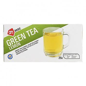AH Basic Green Tea Lemon 25x