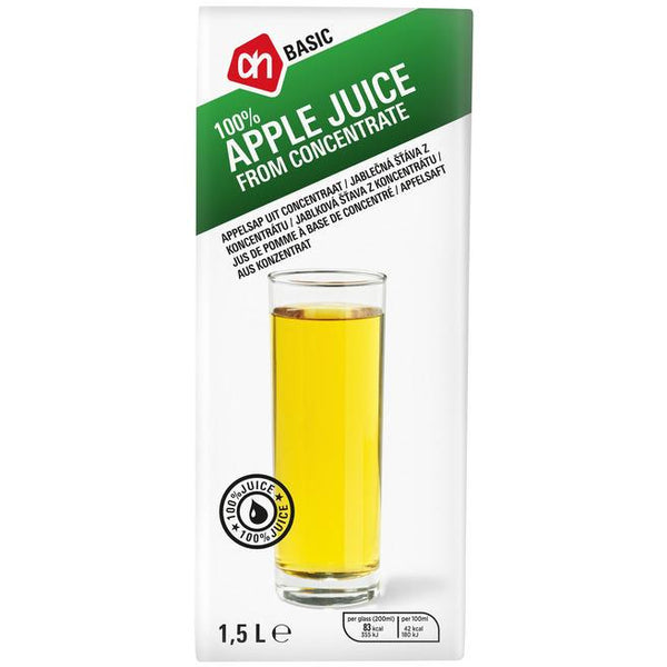 AH Basic Apple Juice 1.5L