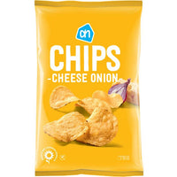 AH Chips Cheese Onion 250 gr