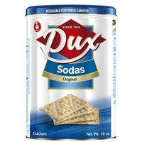 Dux Soda Regular Crackers 16 oz