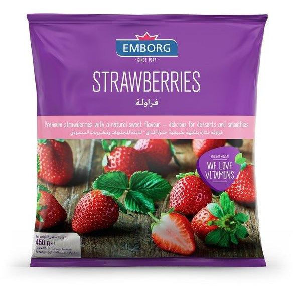 Emborg Strawberries 450 gr (4769207025801)