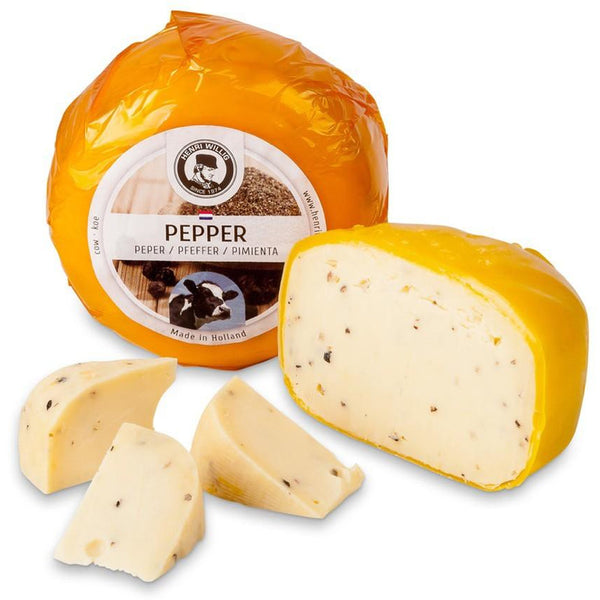 Henri Willig Cow Cheese Black Pepper 380 gr