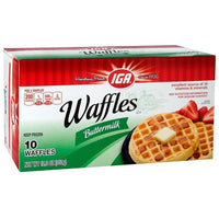 IGA Waffles Buttermilk 12.3 oz