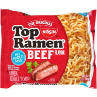 Nissin Top Ramen 3 oz Assorted Flavors
