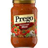 Prego Pasta Sauce with Meat 14oz