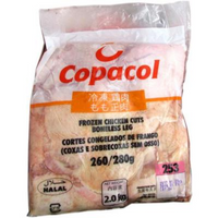 Copacol Chicken Legs Boneless Skin On (frozen) 2 kg