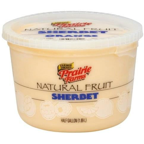 Prairie Farms Orange Sherbet 64 oz