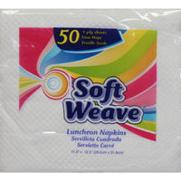 Soft Weave Luncheon Napkins 50 ct