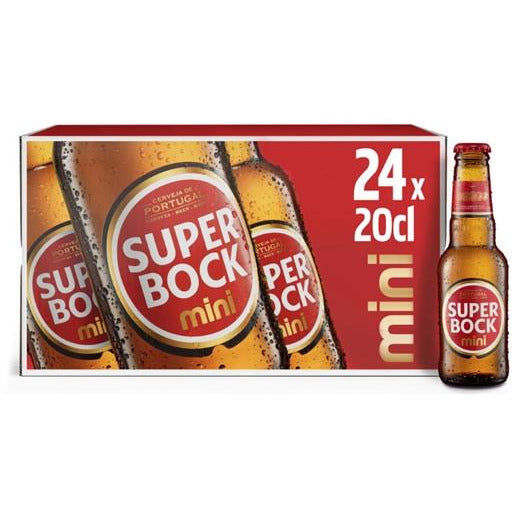 Super Bock Beer 24-20 cl