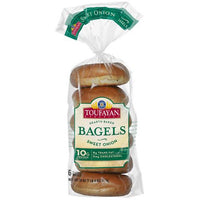 Toufayan Bagels Sweet Oion 6 ct