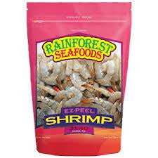 Rainforest Seafoods Shrimps Ez peel 31/40 s/on