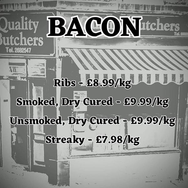Bacon from Neil Smith Quality Butchers