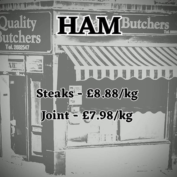 Ham from Neil Smith Quality Butchers