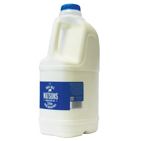 Thurs/Fri/Sat Only - Whole Milk - 2L