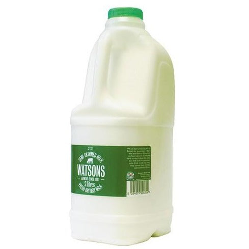 Thurs/Fri/Sat Only - Semi-Skimmed Milk - 2L