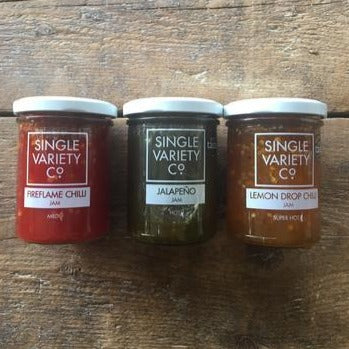 Single Variety Chilli Jams