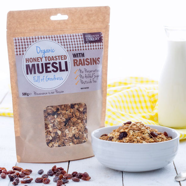 Organic Honey Toasted Muesli with Raisins