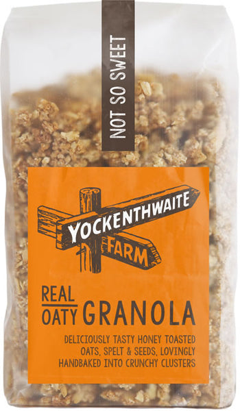 REAL OATY GRANOLA – NOT SO SWEET