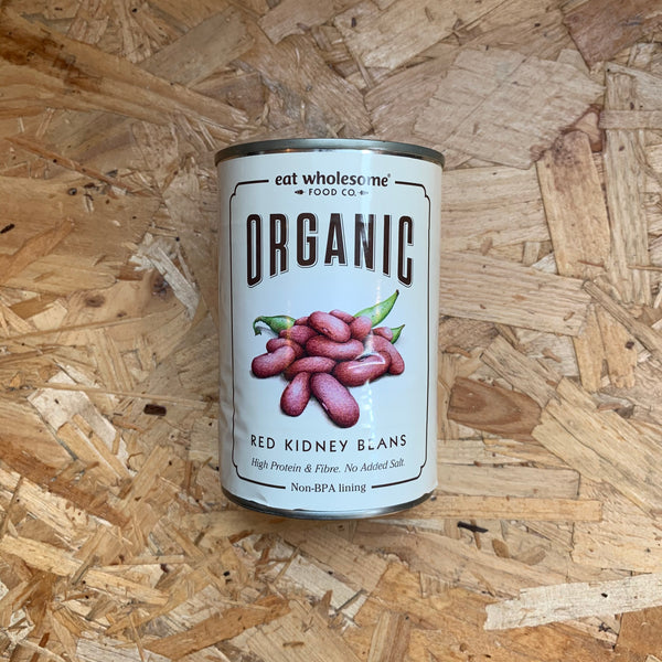 Organic Red Kidney Beans - 400g - Eat Wholesome