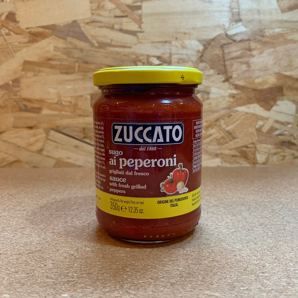 Grilled Pepper Sauce - Zuccato (350g)