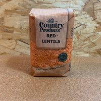 Red Lentils - 500g - Country Products