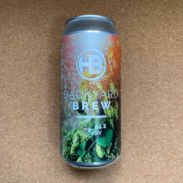 Horsforth Brewery - Backyard Brew 5% - 440ml Can