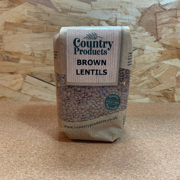 Brown Lentils - 500g - Country Products