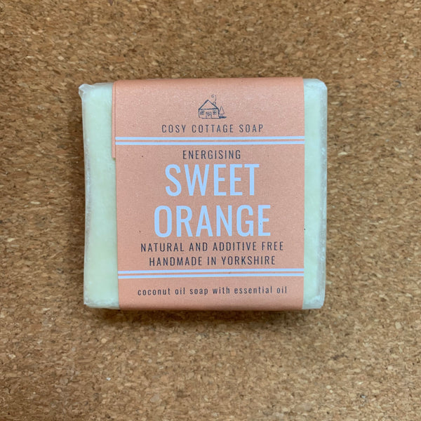 Palm Oil Free Solid Soap - 55g - Sweet Orange