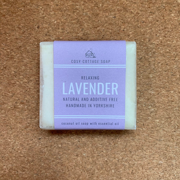 Palm Oil Free Solid Soap - 55g - Lavender