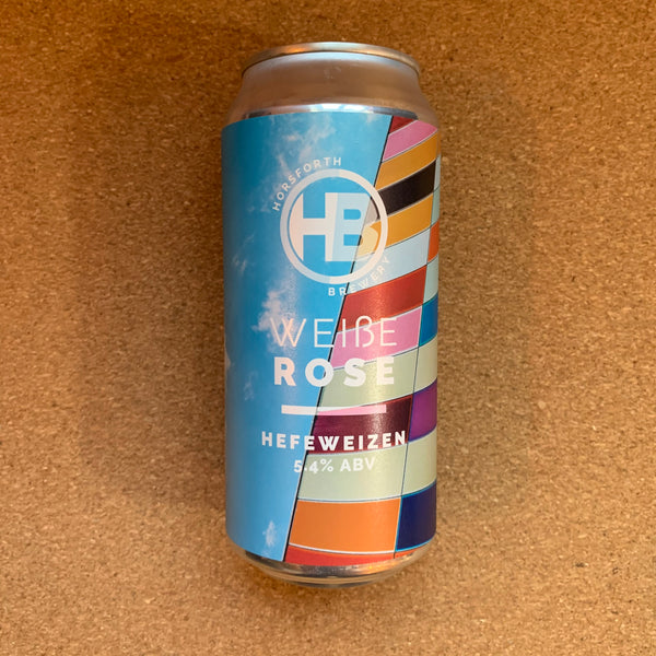 Horsforth Brewery - Weiße Rose - 5.4% Hefeweizen - 440ml Can