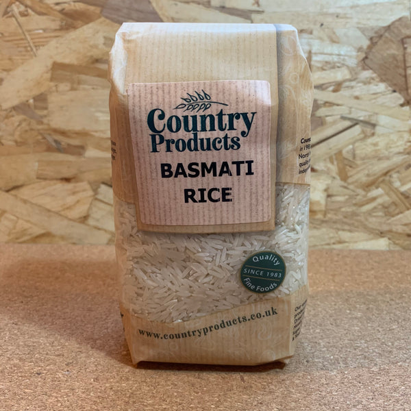 White Basmati Rice - 500g - Country Products