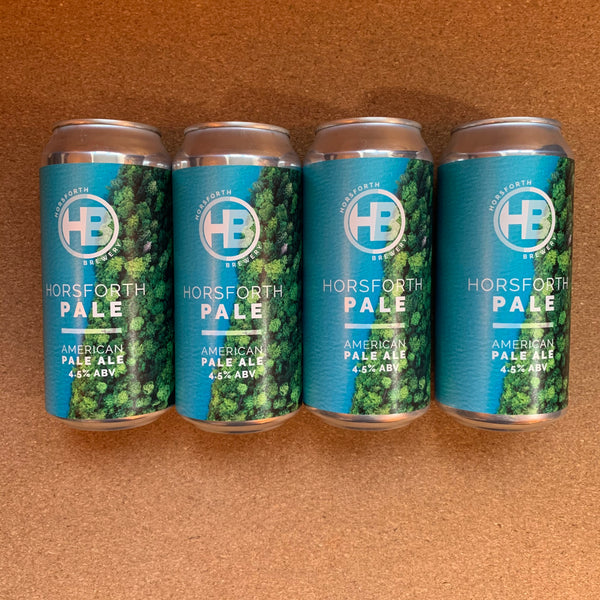 Horsforth Brewery - Horsforth Pale 4.5% - 440ml Can - PACK OF 4