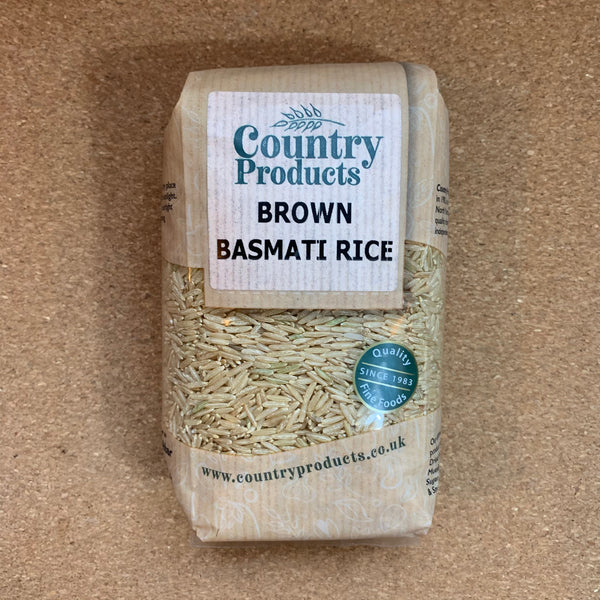 Brown Basmati Rice - 500g - Country Products