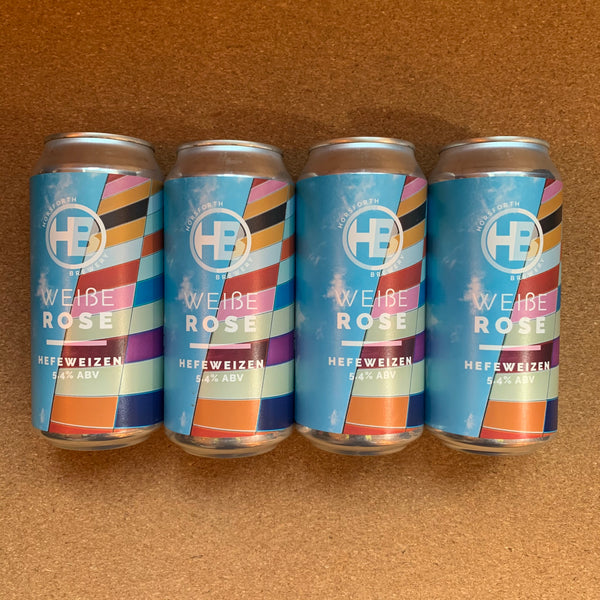 Horsforth Brewery - Weiße Rose - 5.4% Hefeweizen - 440ml Can - PACK OF 4