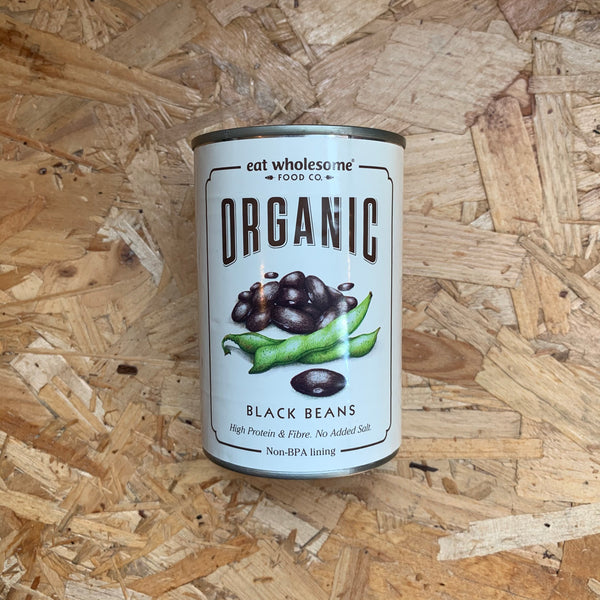 Organic Black Beans - 400g - Eat Wholesome