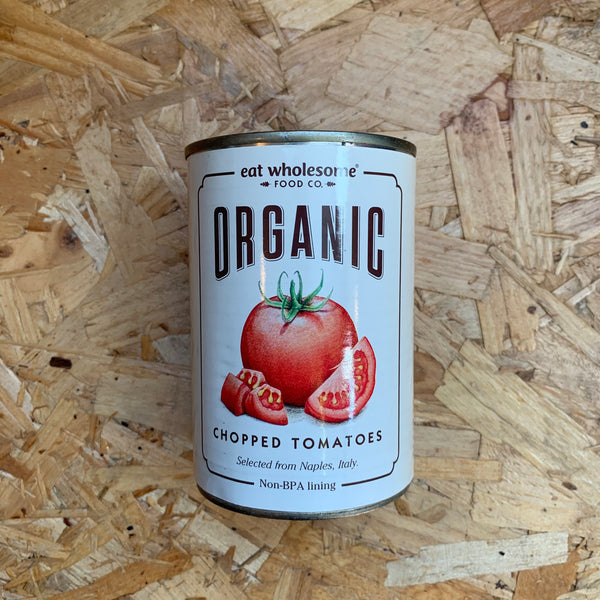 Organic Chopped Tomatoes - 400g - Eat Wholesome