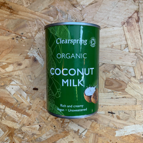 Organic Coconut Milk - 400ml - Clearspring