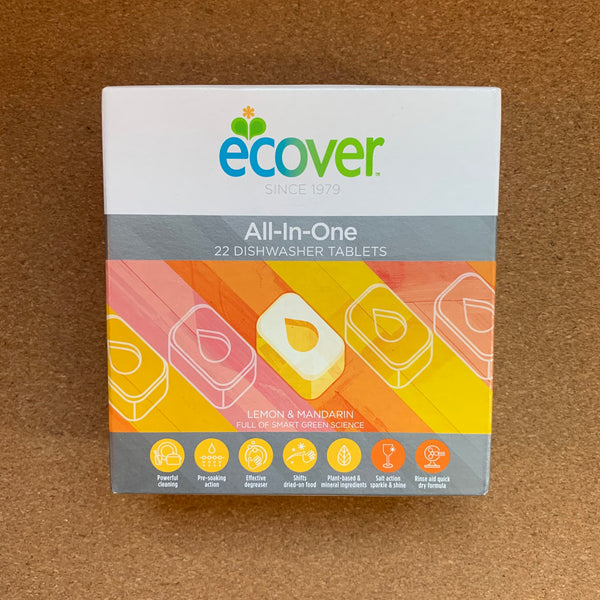All In One Dish Tabs Small - 22 tabs - Ecover
