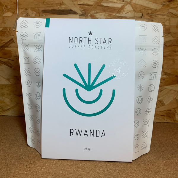 Rwanda Huye Mountain Natural - Whole Bean - 250g