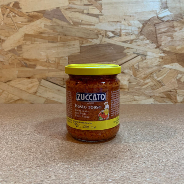 Red Pesto Sauce - Zuccato (190g)