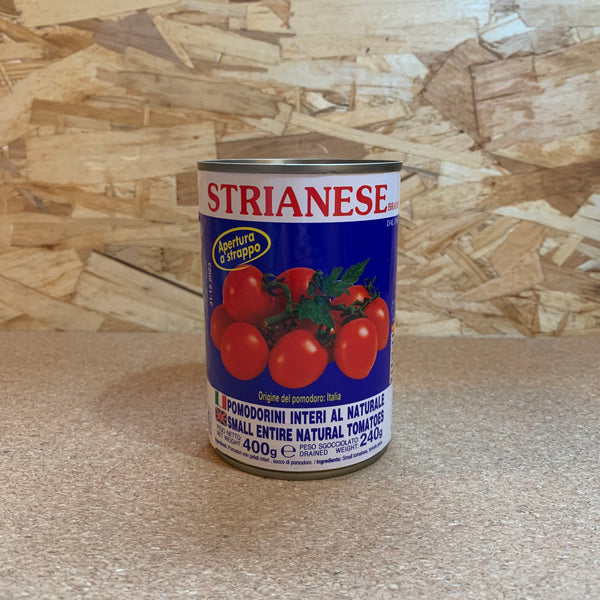 Tinned Cherry Tomatoes - Strianese (400g)