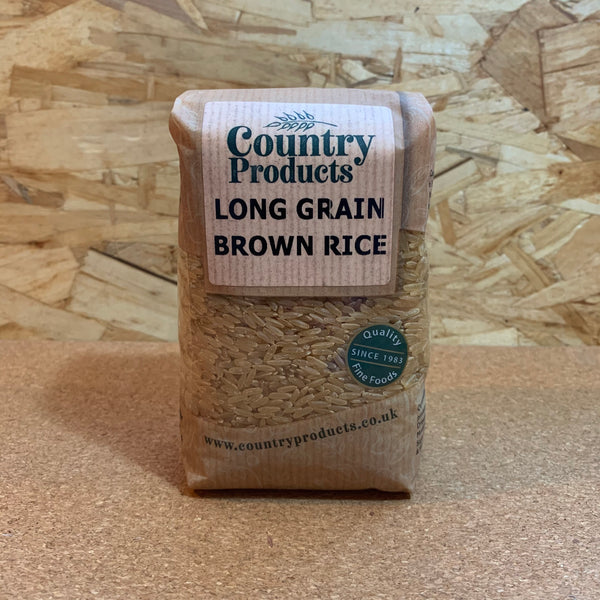 Long Grain Brown Rice - 500g - Country Products