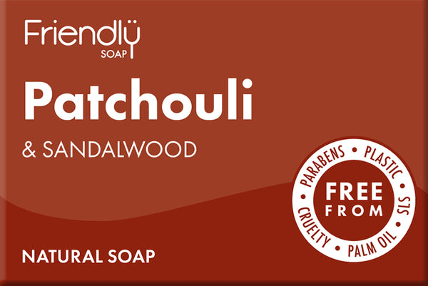 Patchouli & Sandalwood Soap - 95g