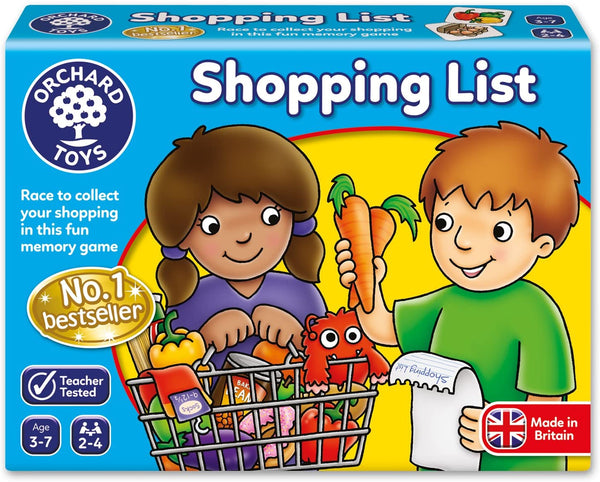 Shopping List Game