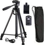 3388 Black Bluetooth Tripod Stand