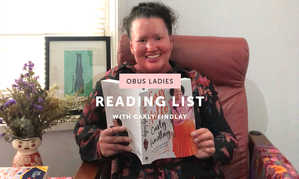 Isolation Reading List with Carly Findlay aka @carlyfindlay