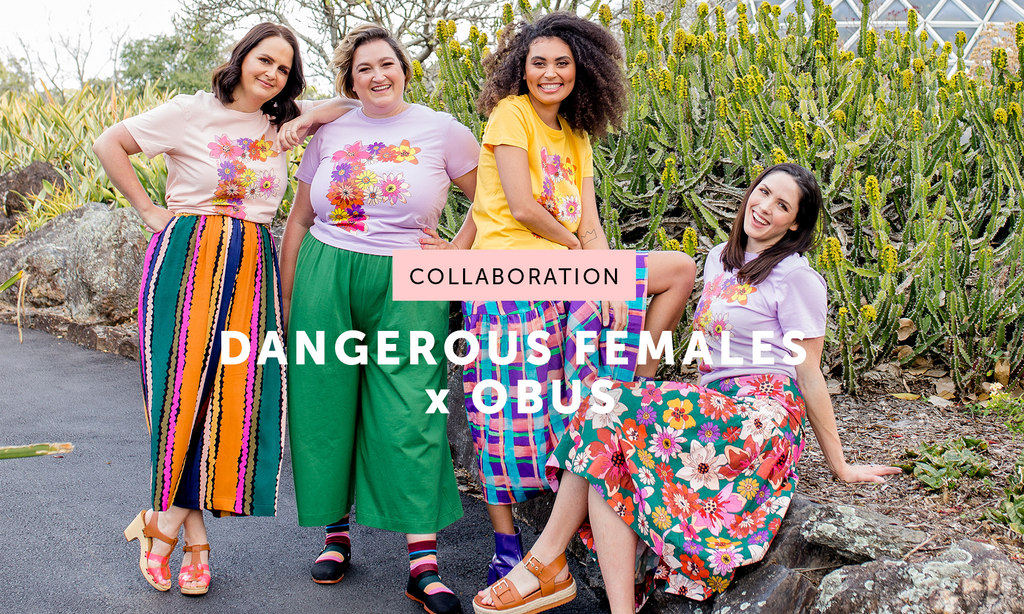 Introducing our DANGEROUS FEMALES x OBUS Collab